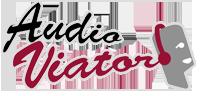 logo audioguías gratis AudioViator.com