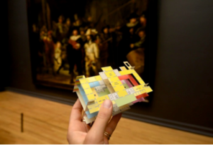 Plano 3D del museo Rijksmuseum