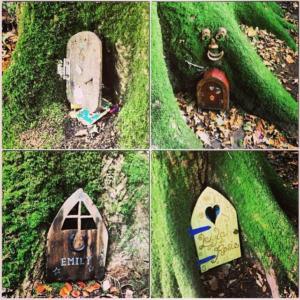 Puertas en el Bosque de las Hadas de Crewkerne, Somerset