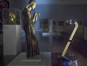 Robot en museo
