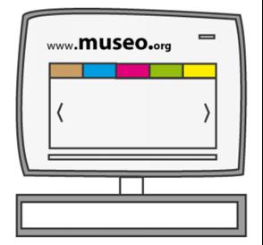 Web de los museos
