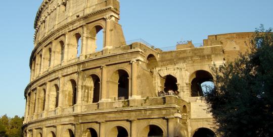 Portada audioguía Coliseo de Roma