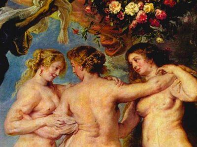 Portada audioguía Las tres Gracias de Rubens