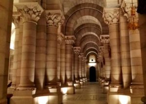 portada audioguía Cripta de la Catedral de la Almudena