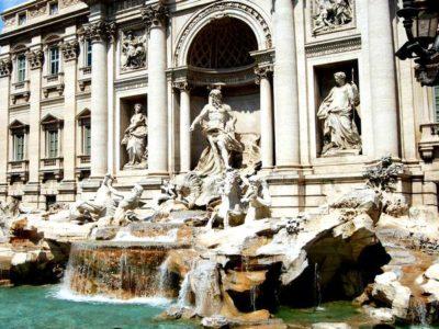 portada audioguía Fontana di Trevi