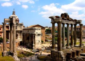 portada audioguía Foros Imperiales Roma