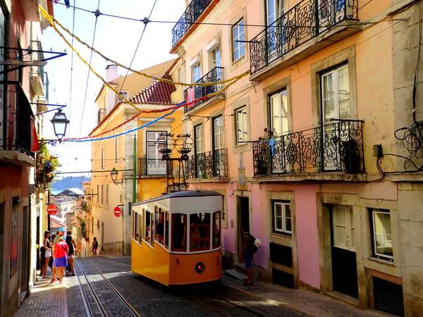 portada audioguía de Lisboa