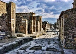 portada audioguía Pompeya Italia